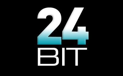 Use 24 bit or above for editing