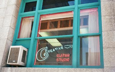 Free guitar tutorials from Creative Guitar Studio
