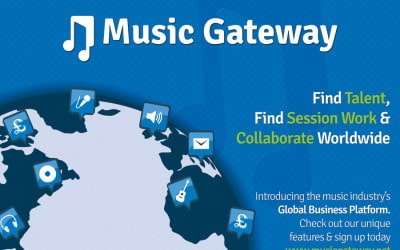 Find paid opportunities and collaborations with Music Gateway