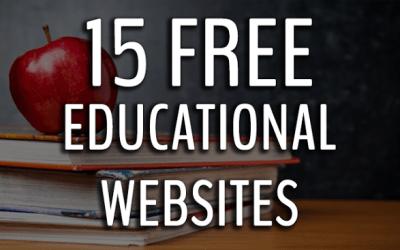 30 free educational websites